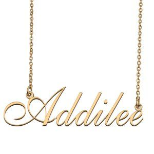 Custom Personalized Addilee Name Necklace